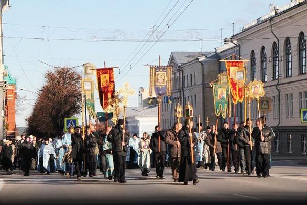 День народного единства вЯрославле отметят крестным ходом, митингом иконцертами