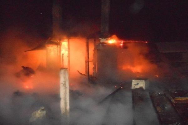 ВЧувашии дети сожгли сооружение бесхозного медпункта