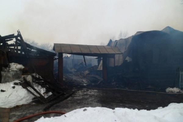 Впожаре вКозловском районе умер 57-летний мужчина