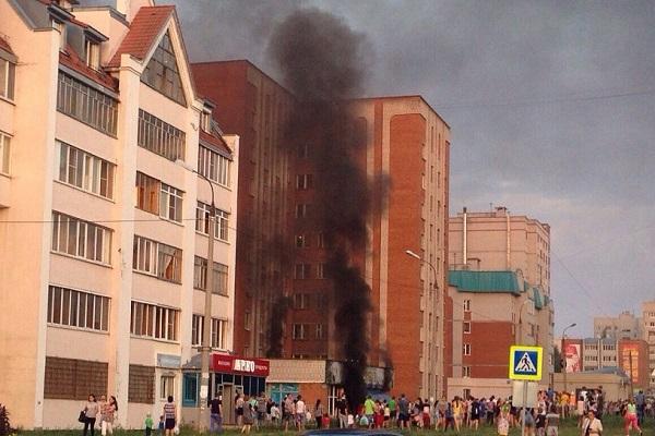 ВЧебоксарах горел детский игровой центр «Остров сокровищ»