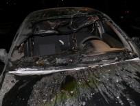 В Чувашии за день сгорели две иномарки