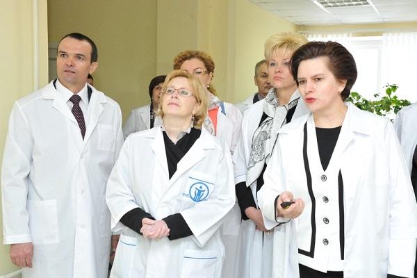 ВЧебоксары прибыла министр здравоохранения РФ Вероника Скворцова
