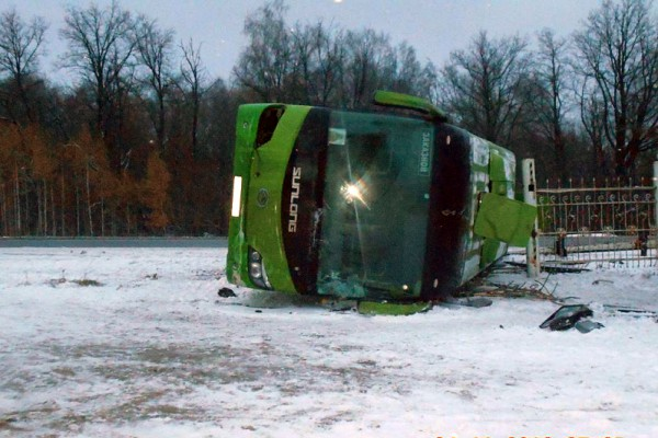 ВЧувашии вДТП савтобусами пострадали неменее 20 человек
