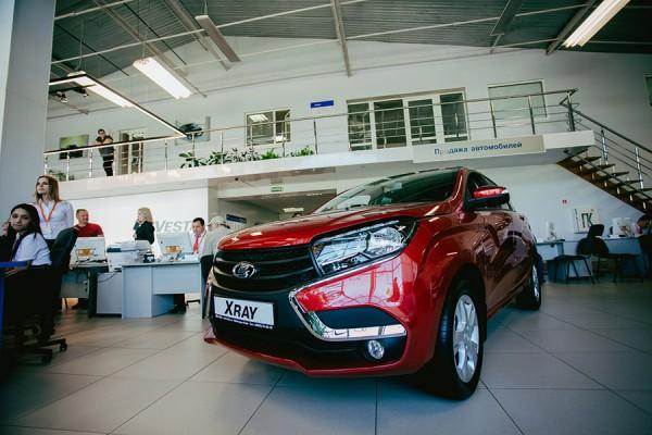 «АвтоВАЗ» увеличил на5% увеличил объем продаж ксередине зимы