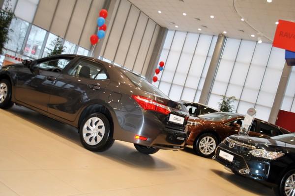 Рынок новых легковых автомобилей за 8 месяцев 2015г. ТОП-50 регионов России