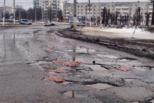 Липецкие дороги оказались вгруппе «недостаточно безопасных»
