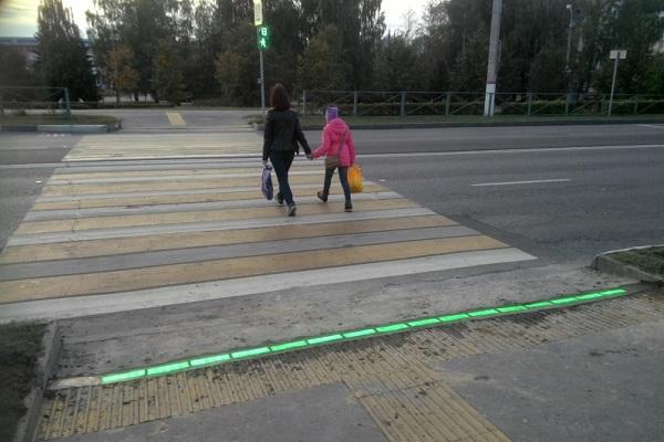 Неподалеку от Йошкар-Олы появился светофор под ногами