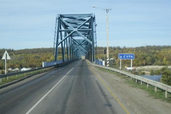 Вниманию автомобилистов! Мост через Суру наМ-7 закроют нанеделю