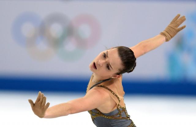20 февраля в произвольной программе в фигурном катании Аделина Сотникова завоевала золото, фото-2