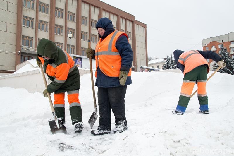 Администрация Чебоксар похвасталась качеством уборки дорог, фото-1