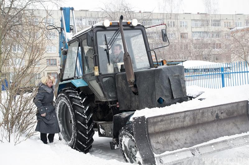 Администрация Чебоксар похвасталась качеством уборки дорог, фото-2